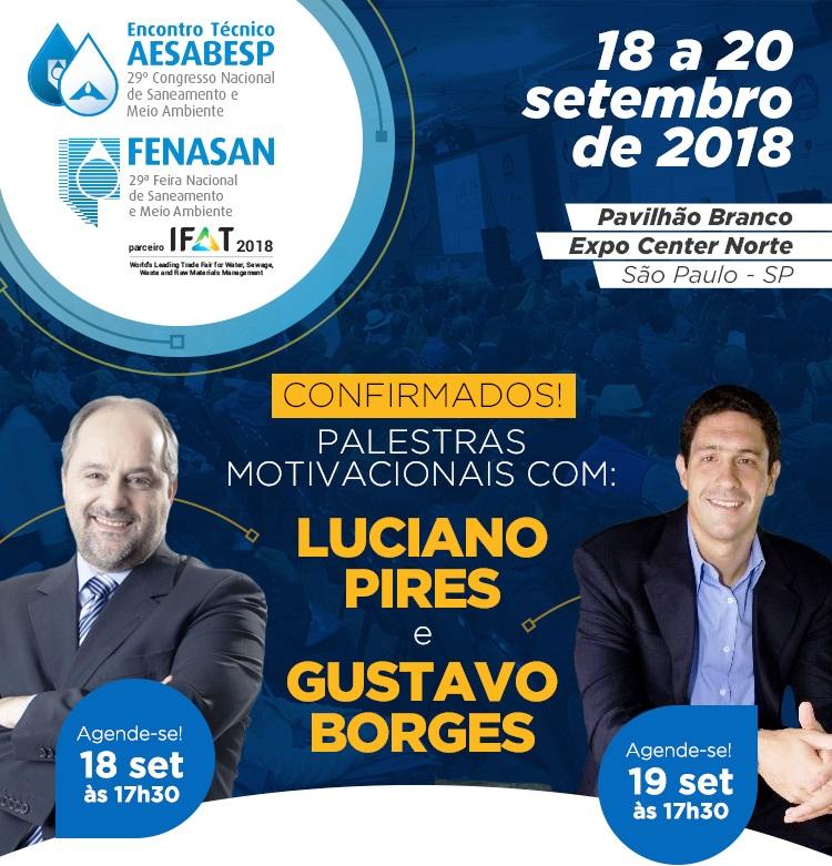 Encontro Técnico Aesabesp Fenasan 2018 Prestigiadas